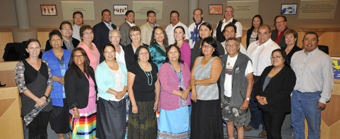 Grads celebrate with feast at File Hills Qu'Appelle Tribal Council