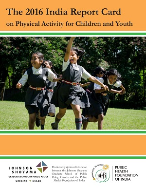 JSGS Faculty Member Represents India in Report Card on Physical Activity of Children and Youth